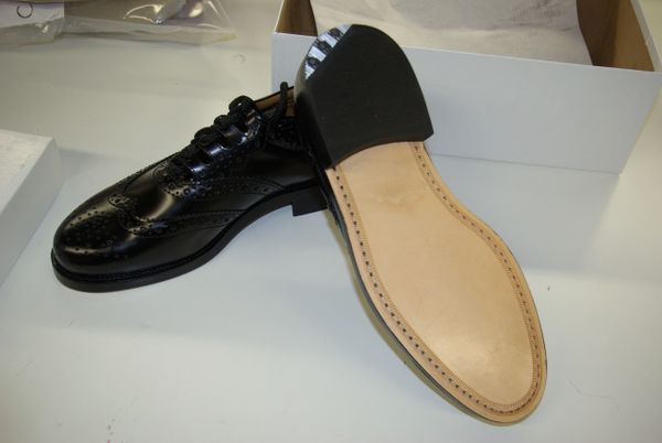 Avriel military triple thick sole with steel cleat Brogue