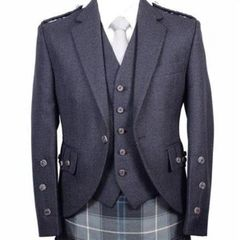 Braemar Charcoal Jacket/Vest