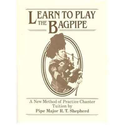 SHEPHERD BAGPIPE TUTOR BOOK & CD