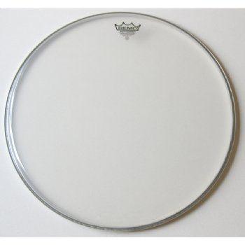15 inch ambasador tenor drum head clear