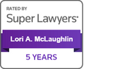 Super Lawyer for over 5 years: Lori A. McLaughlin