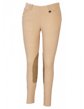 Equine Couture Ladies Coolmax Champion Side Zip Breeches With Euroseat-28