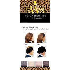 RWR no knot hair net