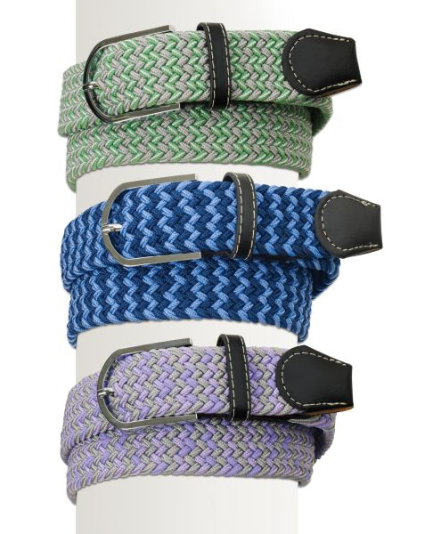 Ovation® Braided Stretch Belt