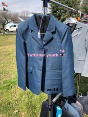 Tuffrider youth 14 show coat