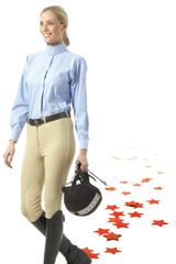 EquiStar™ Pull-On Knee Patch Breeches - Ladies'