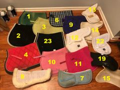 Used pads: PRI, Roma, Cashel, Medallion, Lami-cell