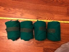 Standing wraps green used