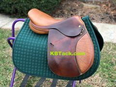 "17.5"" Bucks County Saddlery close contact saddle"