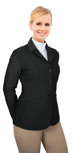Ovation® AirFlex 3-Button Show Coat- Ladies'