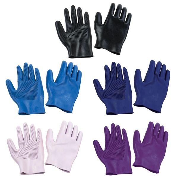 Curve Finger Grooming Gloves- Pair