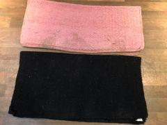 Wool show pads