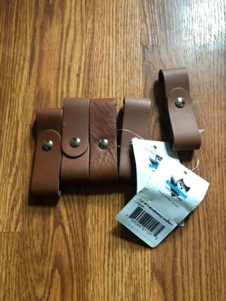 Breakaway halter leather replacement piece