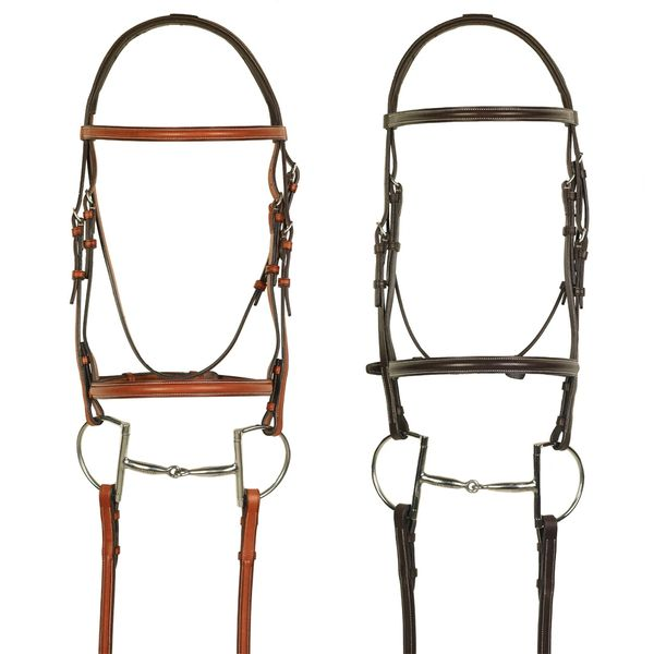 Aramas® Plain Raised Bridle with Laced Reins