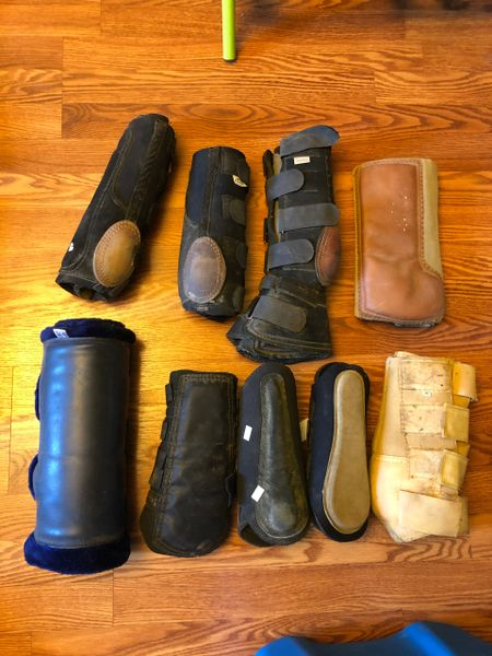 Lot of boots