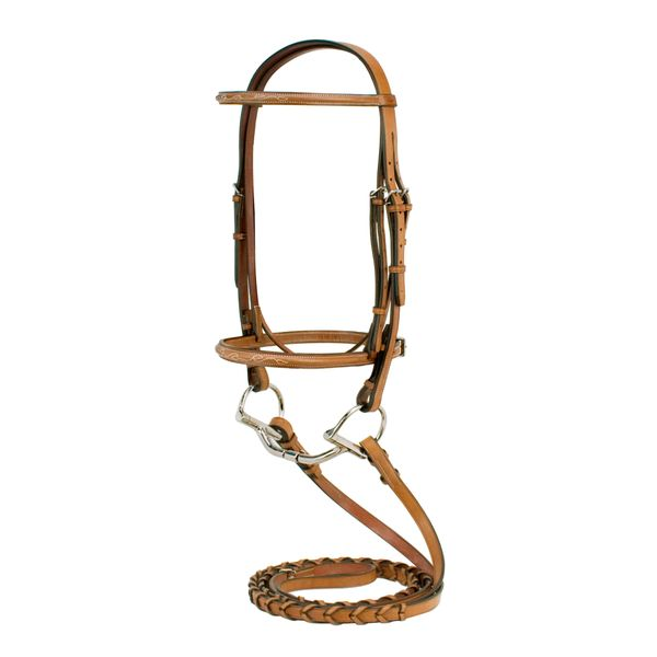 Silverleaf Fancy Raised Bridle- COB, OS