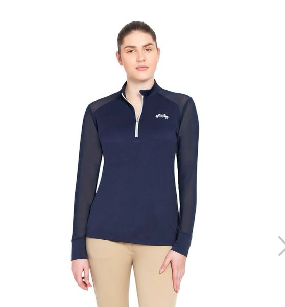 EQUINE COUTURE LADIES ERNA EQUICOOL LONG SLEEVE SPORT SHIRT