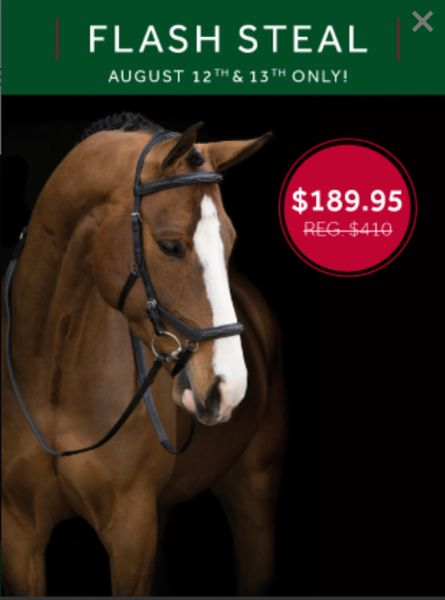 Rambo® Micklem® Deluxe Competition Bridle English Leathers