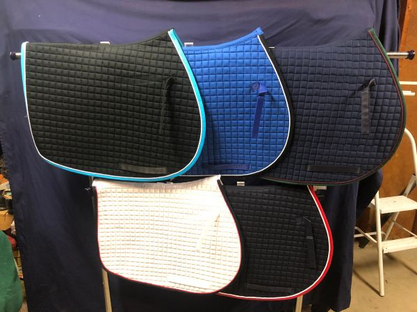 PRI Pacific Rim International All Purpose Saddle Pad-Premium 3 colors