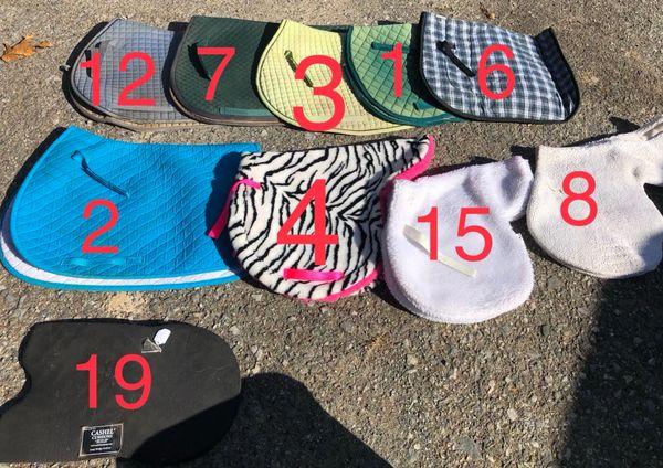 Used pads: PRI, Ovation, Cashel, Ovation, Lami-cell