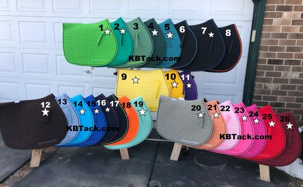 PRI Pacific Rim International All Purpose Saddle Pad