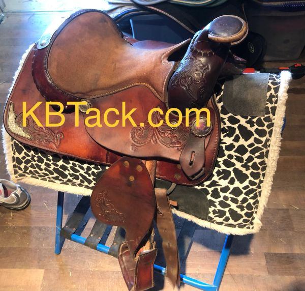 "11"" Silver Royal western saddle"