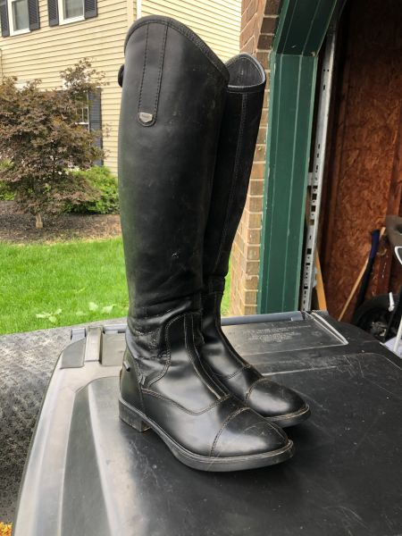 Horze used tall boots size 38R
