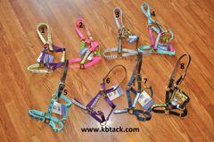 Perri's pony ribbon halters