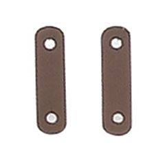 Safety stirrup replacement leathers