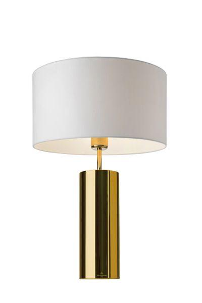 Prag Gold Round Table Lamp