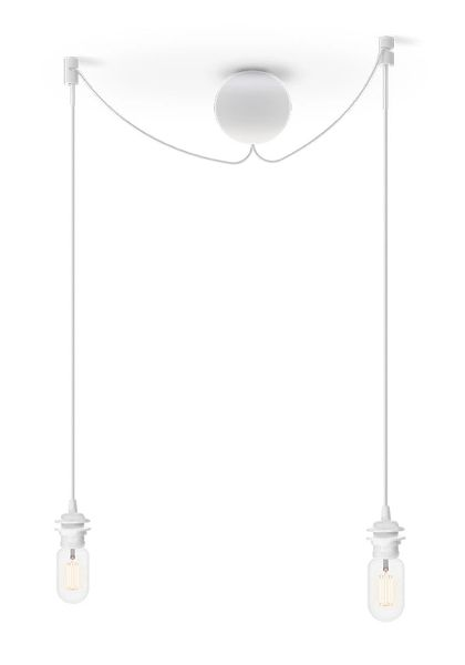 Cannonball White Cluster 2 Cord Set