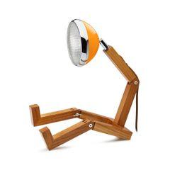 Mr Wattson LED Table Lamp Mclaren Orange