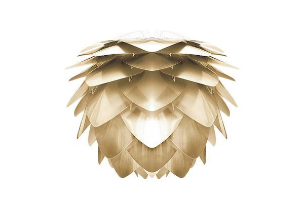 Silvia Shade Medium Brushed Brass