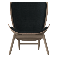The Reader Armchair - Oak - Slate Grey