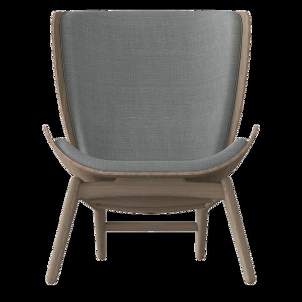 The Reader Armchair - Dark Oak - Silver Grey