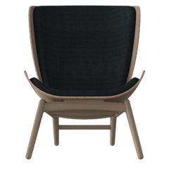 The Reader Armchair - Dark Oak - Slate Grey