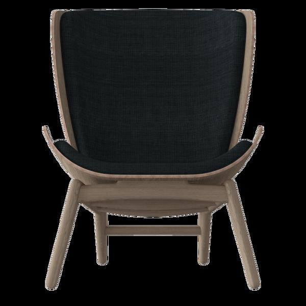 The Reader Armchair - Dark Oak - Slate Grey