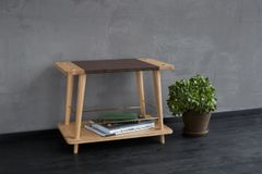 Convenience Bench - Oak/Dark Oak