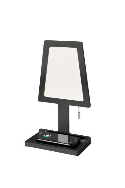 Charged Aluminium (Wireless Phone Charger) LED Table Lamp