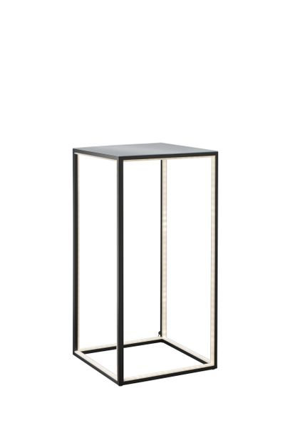 Light Table Tall Black Alu Floor Lamp