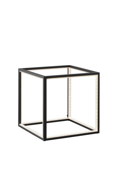 Cubed Black Table Lamp (30 cm)