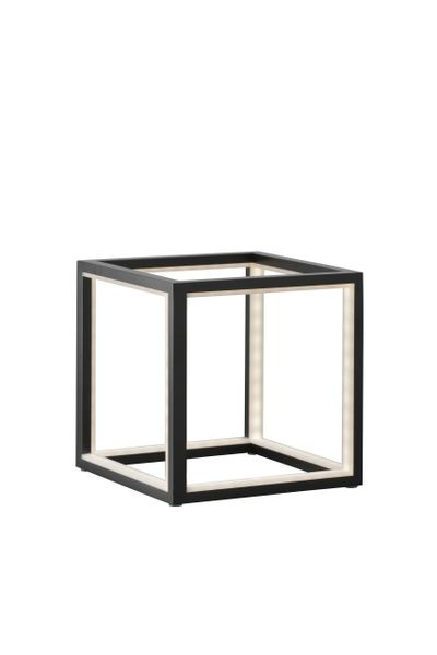 Cubed Black Table Lamp (20 cm)