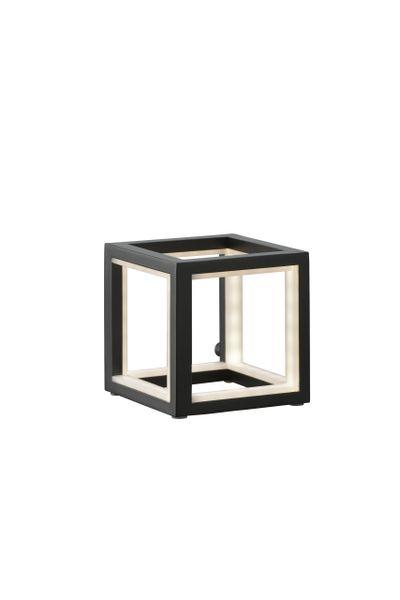 Cubed Black Table Lamp (12 cm)