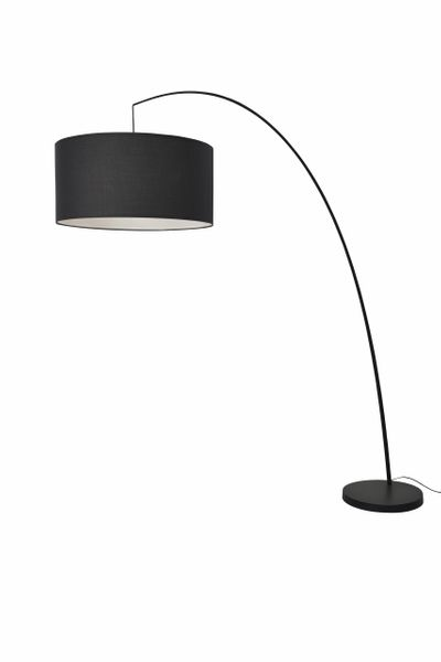 Lean Black Floor Lamp