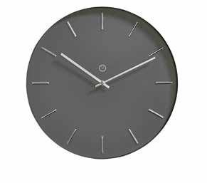 Helsinki Anthracite Clock