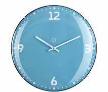 Rio Turquoise Clock Small
