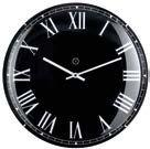 Lima Black Clock Small