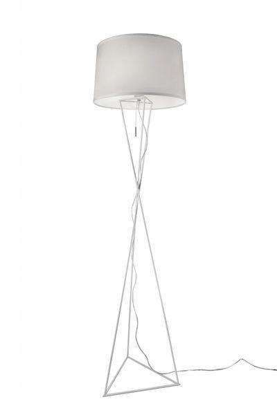 New York White Floor Lamp