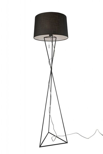 New York Black Floor Lamp