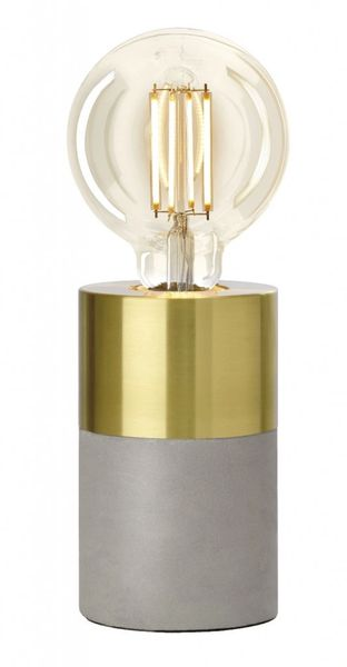Athen Metal Gold Table Lamp